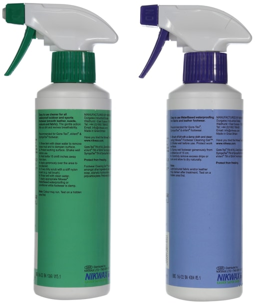 Nikwax Cleaning, Fabric & Leather Proof™ Set - No Colour