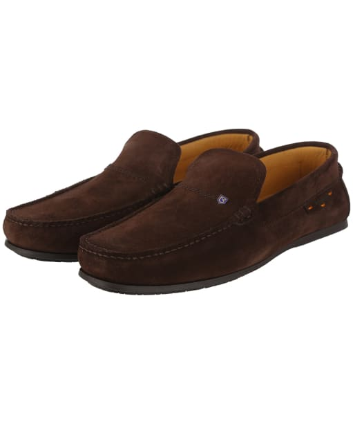 Men's Dubarry Tobago Loafers - Cigar