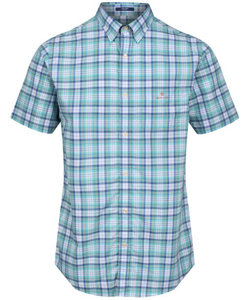 Men's GANT Tech Prep™ Check Shirt - Pool Green