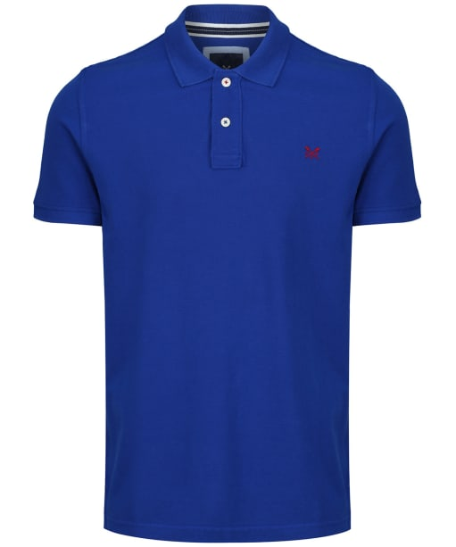 Men's Crew Clothing Classic Polo Shirt - Bright Blue