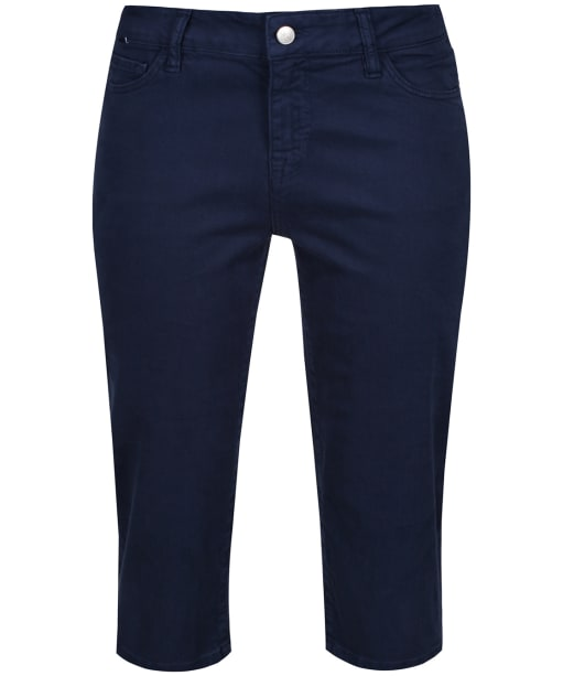 Women's Crew Clothing Murray Cropped Trousers - Navy