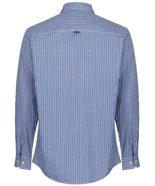 Men's Crew Clothing Tattersall Check Shirt - Lapis Blue