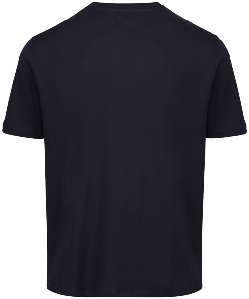 Men's R.M. Williams Parson T-shirt - Navy / Chestnut