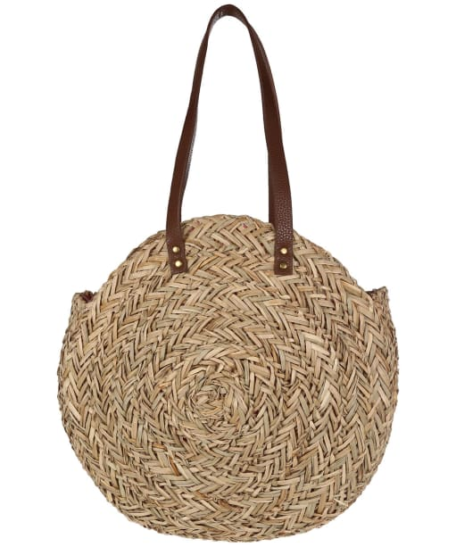 Women's Joules Modena Round Summer Bag - Natural
