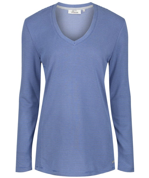 Women's Dubarry Stradbally V-neck Top - Royal Blue