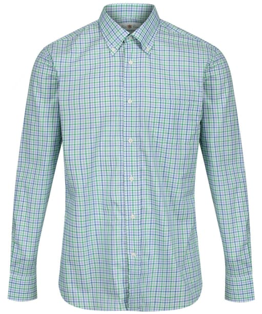 Men's Alan Paine Goldthorpe Shirt - Green Check