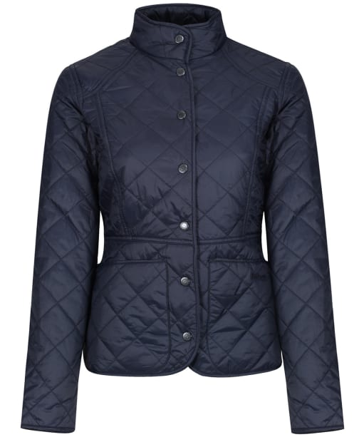 Women's Barbour Sam Heughan Fell Quilted Jacket - Navy