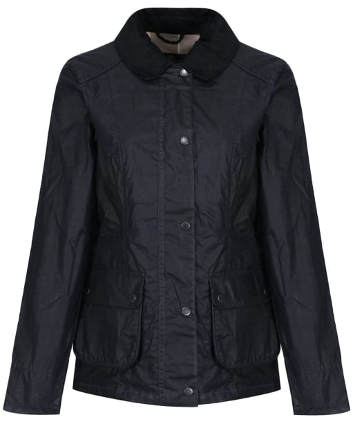 Women's Barbour Sam Heughan Dover Waxed Jacket - Navy