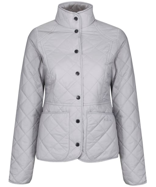 Women's Barbour Sam Heughan Fell Quilted Jacket - Ice White