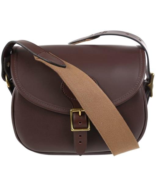 Croots Byland Leather Cartridge Bag - Oxblood