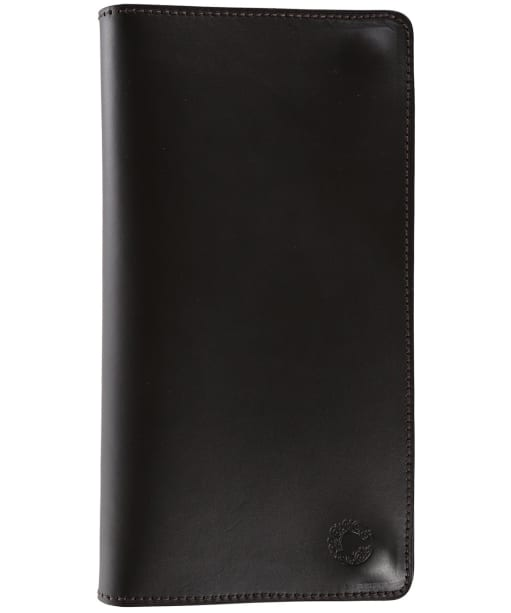 Croots Byland Leather Certificate Wallet - Dark Havanna