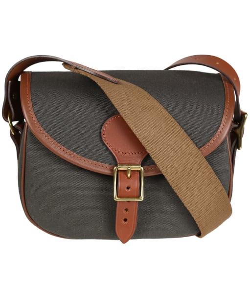 Croots Rosedale Canvas Cartridge Bag - Green / Tan