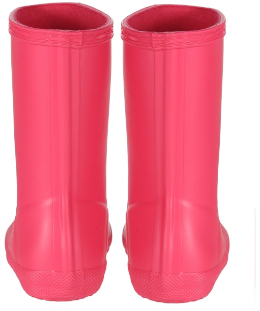 Hunter Kids First Classic Wellington Boots - Bright Pink