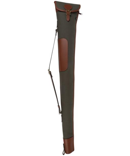 Croots Rosedale Canvas Shotgun Slip - Green / Tan