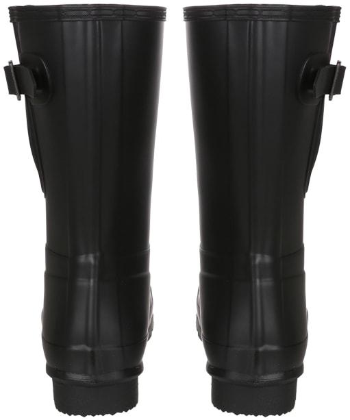 Men's Hunter Original Short Adjustable Wellington Boots - Black