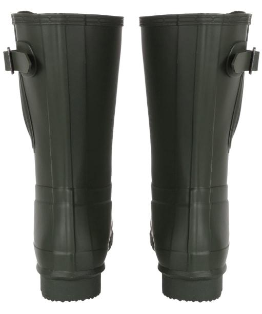 Men's Hunter Original Short Adjustable Wellington Boots - Dark Olive