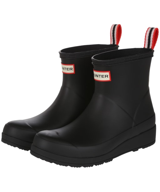 Women's Hunter Original Play Short Wellington Boots - Black