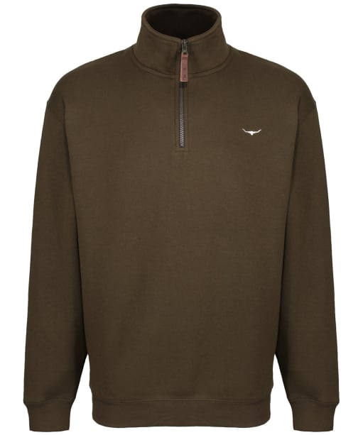 Men's R.M. Williams Mulyungarie Fleece - Dark Olive