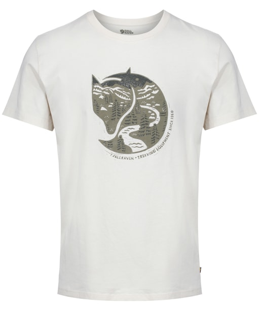 Men's Fjallraven Arctic Fox T-Shirt - Chalk White