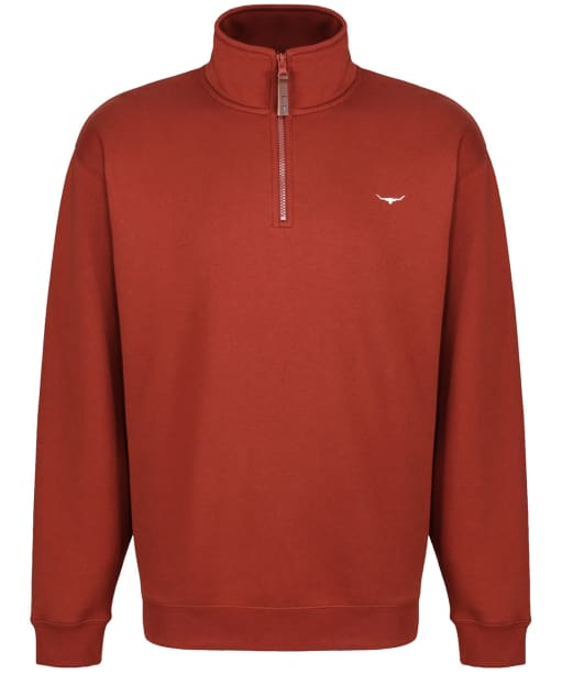 Men's R.M. Williams Mulyungarie Fleece - Russet