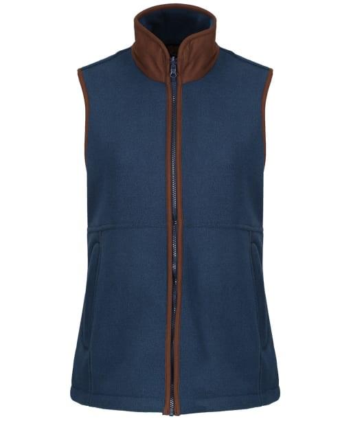 Women's Alan Paine Aylsham Fleece Gilet - Blue Steel