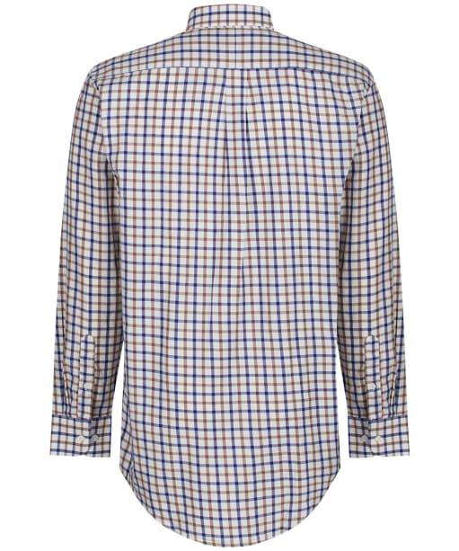 Men's Alan Paine Ilkley Shirt - Brown Check