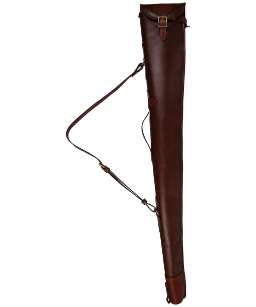 Alan Paine Leather Gun Slip - Brown