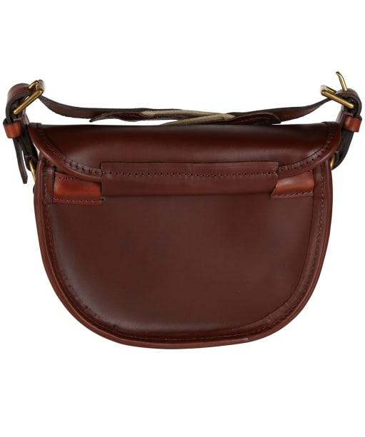 Alan Paine Leather Cartridge Bag - Brown