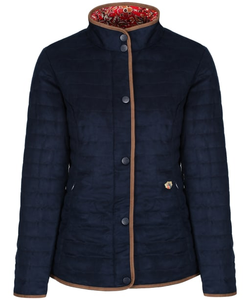 Women's Alan Paine Felwell Quilted Jacket - Navy