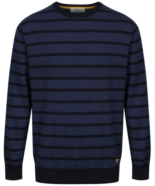 Men's Dubarry Avondale Crew Neck Sweater - Navy Multi
