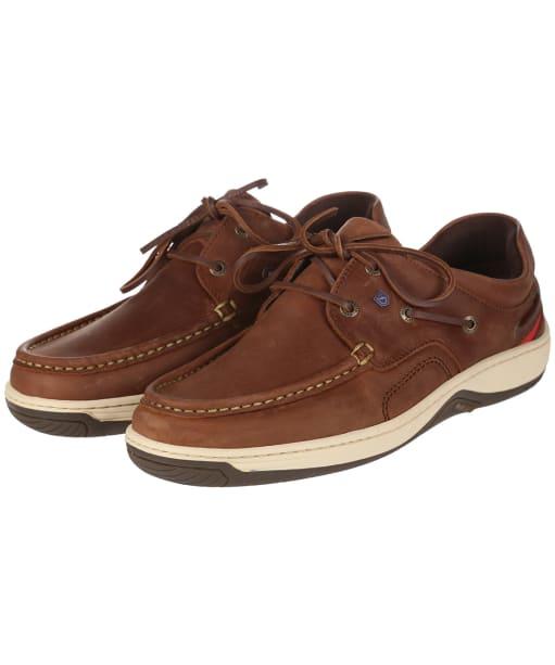 Men's Dubarry Navigator Deck Shoes - Chestnut