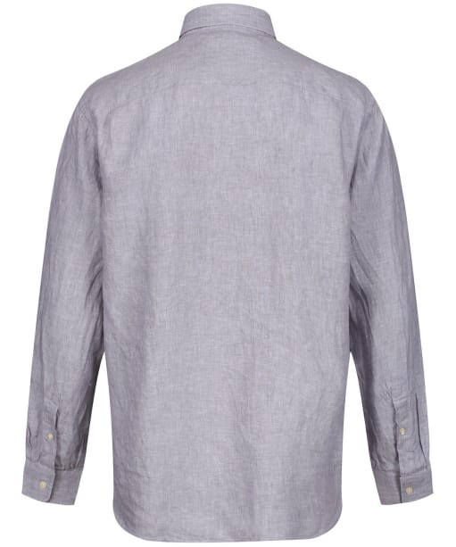 Men's Schoffel Sandbanks Linen Shirt - Grey