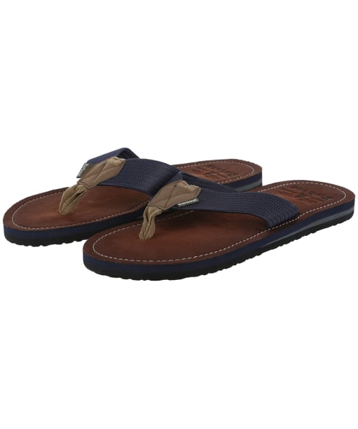 Men's Barbour Toeman Beach Sandals - Navy