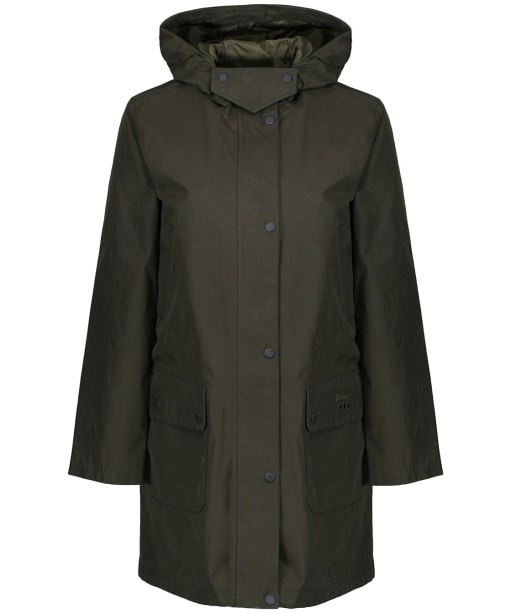 Women's Barbour Barogram Waterproof Jacket - Olive