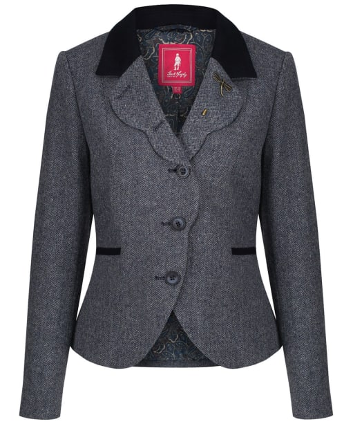 Women's Jack Murphy Kaley Tweed Jacket - Summer Blue