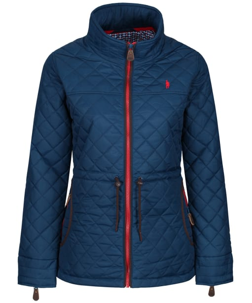Women's Jack Murphy Dot Quilted Jacket - Deep Aqua