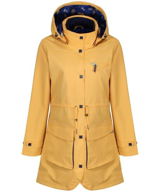 Women's Jack Murphy Molly Waterproof Coat - Lemon Drop