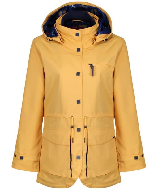 Women's Jack Murphy Holly Waterproof Coat - Lemon Drop