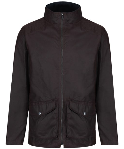 Men's Jack Murphy Dorien Waxed Jacket - Rich Brown
