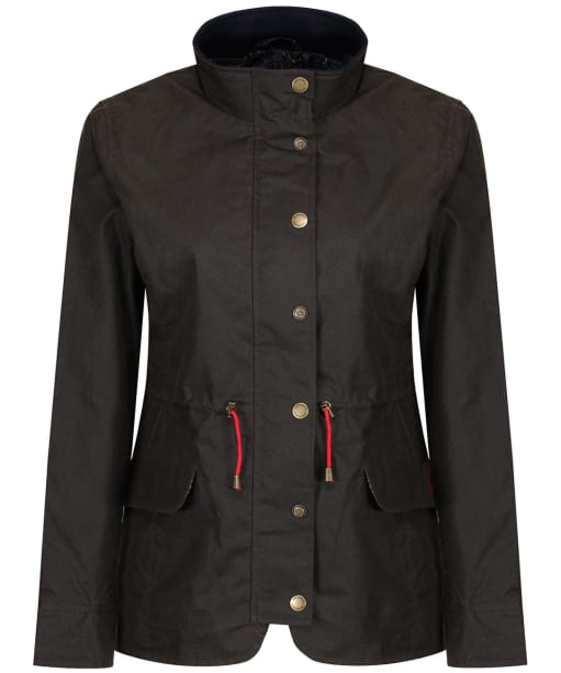 Women's Jack Murphy Lauren Waxed Jacket - Olive
