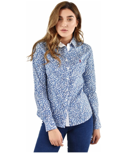 Women's Jack Murphy Bree Shirt - Navy Botanic
