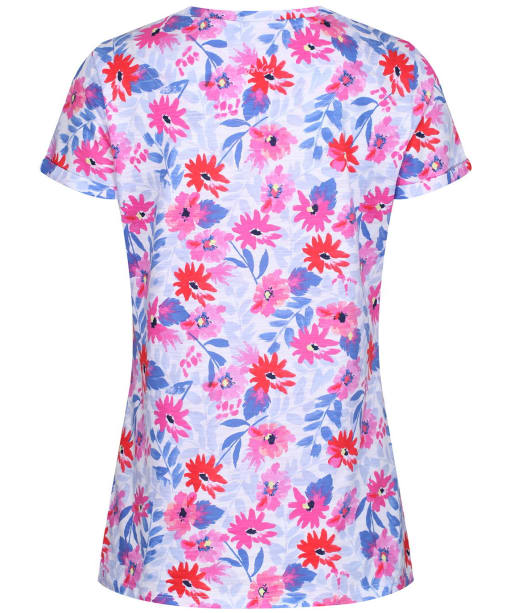 Women's Joules Nessa Print T-Shirt - White Multi Floral