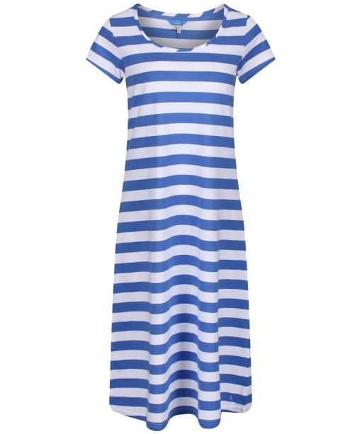 Women's Joules Rayma Swing Dress - Blue / White Stripe