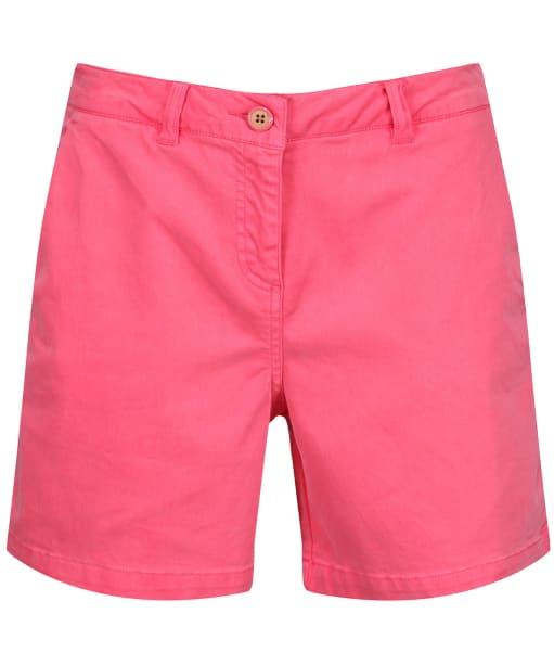 Women's Joules Cruise Mid Thigh Length Chino Shorts - Pink