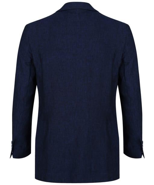 Men's Schoffel Linen Blazer - Navy