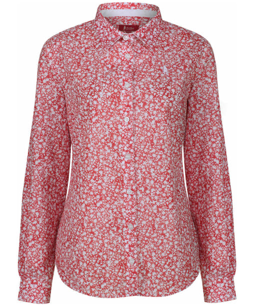 Women's Jack Murphy Bree Shirt - Red Botanics