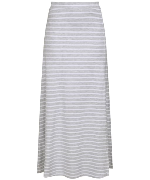 Women's Joules Marion Maxi Skirt - Grey / White Stripe