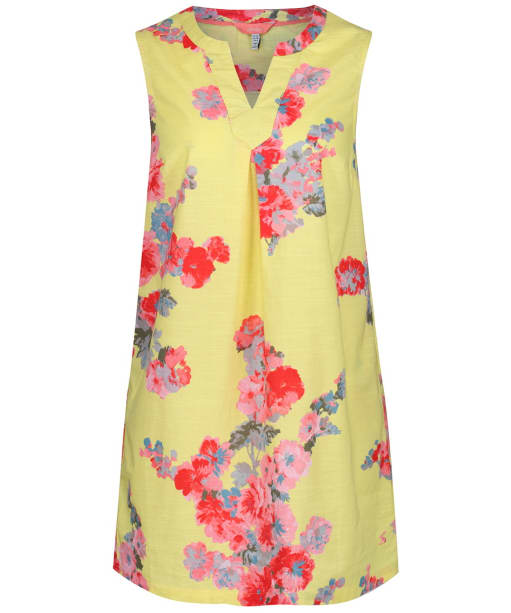 Women's Joules Jill Tunic Top - Lemon Floral