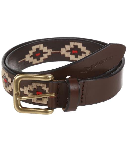 pampeano Leather Polo Belt - PRINCIPE