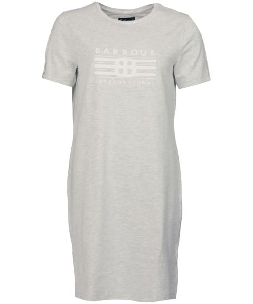 Women's Barbour International Morzine Dress - Pale Grey Marl